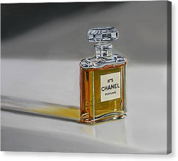 Chanel No 5 Canvas Print by Gail Chandler
