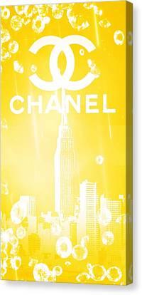 Chanel Canvas Print by Pierre Chamblin