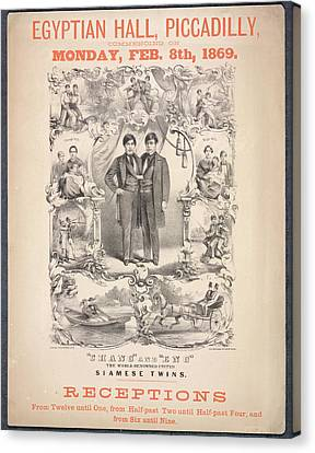 Chang And Eng Canvas Print by British Library
