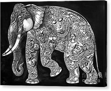 Chang Canvas Print by Kritsana Tasingh