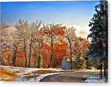 Change Of Seasons Canvas Print by Lois Bryan