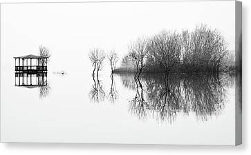 Shed Canvas Print - Changes by Paulo Abrantes