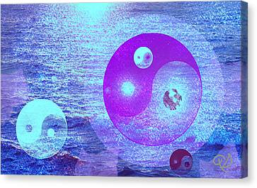 Changing Currents Of Reality Canvas Print