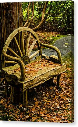 Seat Of The Soul Canvas Print - Changing Of The Seasons by Jordan Blackstone