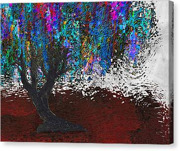 Changing Tree Canvas Print by Jack Zulli