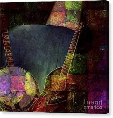 Changing Tune By Steven Langston Canvas Print by Steven Lebron Langston