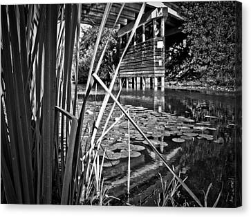 Canvas Print featuring the photograph Channel by Adria Trail