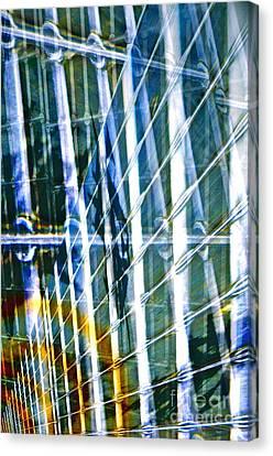 Chaos Canvas Print by Gwyn Newcombe