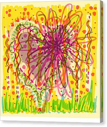 Childlike Canvas Print - Chaos Is Beauty by Donniece Smith