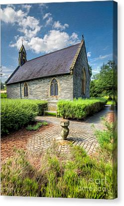 Chapel 17th Century  Canvas Print by Adrian Evans