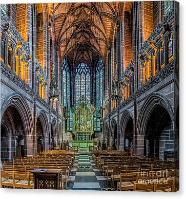 Chapel Canvas Print by Adrian Evans