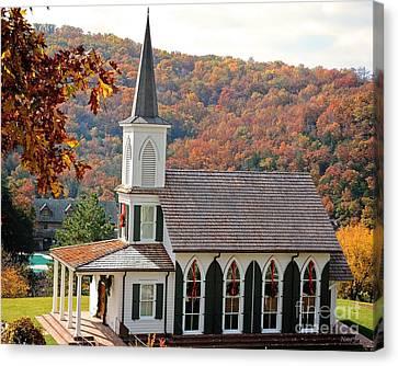 Chapel At Big Cedar Canvas Print