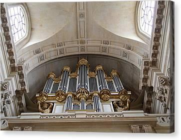 Chapel At Les Invalides - Paris France - 01133 Canvas Print by DC Photographer