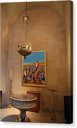 Chapel At Les Invalides - Paris France - 01134 Canvas Print by DC Photographer