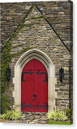 Chapel - D003211 Canvas Print by Daniel Dempster