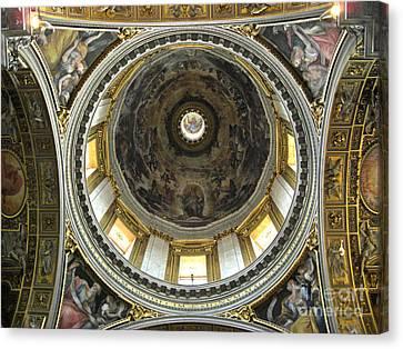 Chapel Dome Canvas Print by Deborah Smolinske