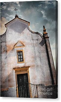 Chapel Facade Canvas Print by Carlos Caetano