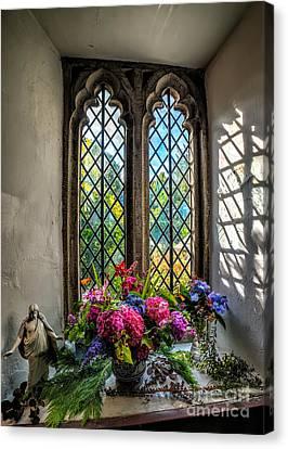 Chapel Flowers Canvas Print