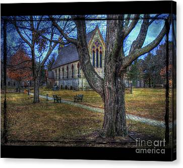 Chapel Canvas Print by Jim Wright