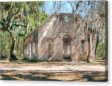 Chapel Of Ease - Front Canvas Print by Scott Hansen