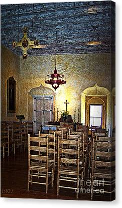 Chapel Of Guadalupe Canvas Print by Barbara R MacPhail