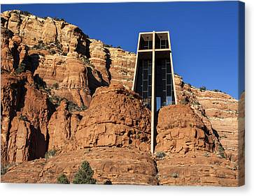 Chapel Of The Holy Cross Canvas Print