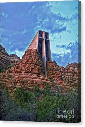 Chapel Of The Holy Cross - Sedona Arizona Canvas Print by Gregory Dyer