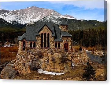 Chapel On The Rocks Canvas Print