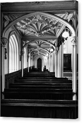 Canvas Print featuring the photograph Chapel Royal In Dublin Castle by Photography  By Sai