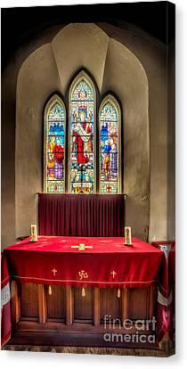 Chapel Window Canvas Print by Adrian Evans