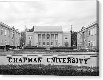 Christian Canvas Print - Chapman University Memorial Hall by University Icons