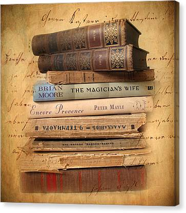 Chapter And Verse Canvas Print by Jessica Jenney