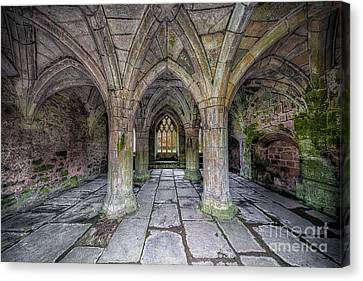 Chapter House Interior Canvas Print by Adrian Evans