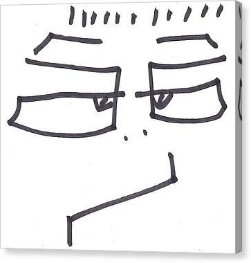 Character Creation - Bgul Canvas Print by Brett Smith