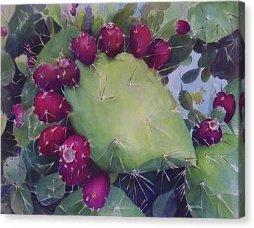 Charco De Botanico Canvas Print
