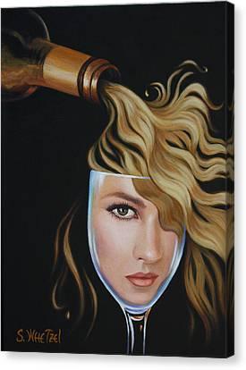 Chardonnae Canvas Print by Sandi Whetzel