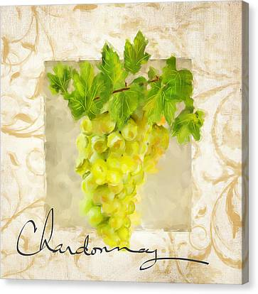 Chardonnay Canvas Print by Lourry Legarde