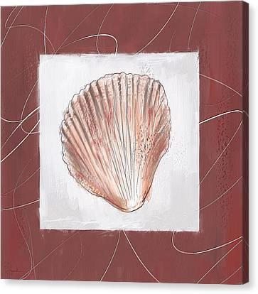 Charismatic Caribbean- Marsala Pantone 18-1438 Canvas Print by Lourry Legarde
