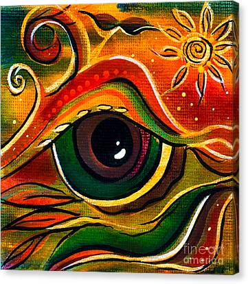 Charismatic Spirit Eye Canvas Print