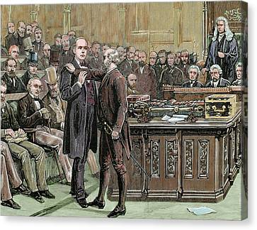 Charles Brandlaugh (1833-1891 Canvas Print by Prisma Archivo