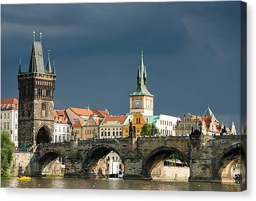Charles Bridge Prague Canvas Print