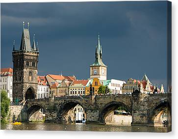 Charles Bridge Prague Canvas Print
