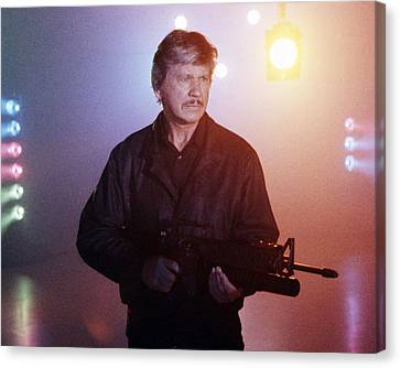 Charles Bronson In Death Wish 4: The Crackdown  Canvas Print by Silver Screen