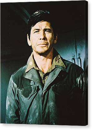 Charles Bronson In The Dirty Dozen Canvas Print