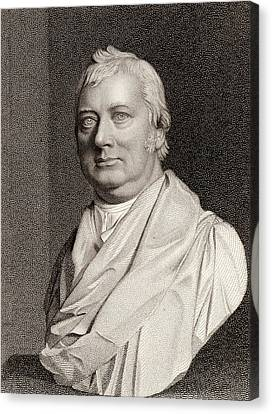 Charles Burney Canvas Print by Universal History Archive/uig