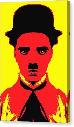 Charles Chaplin Charlot Alias Canvas Print