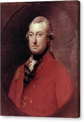 Charles Cornwallis (1738-1805) Canvas Print by Granger