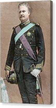 Charles I Of Portugal (1863-1908 Canvas Print by Prisma Archivo