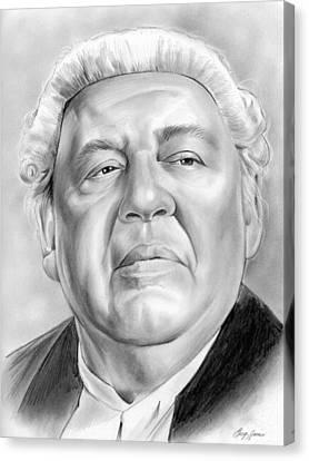 Charles Laughton Canvas Print by Greg Joens