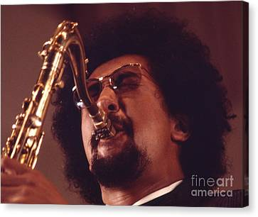 Charles Lloyd In The Soviet Union Canvas Print by The Harrington Collection